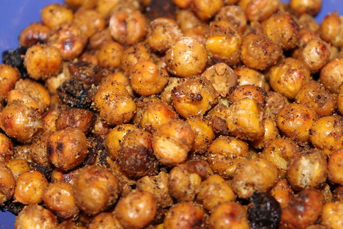 Roasted Spiced Chickpea Snacks