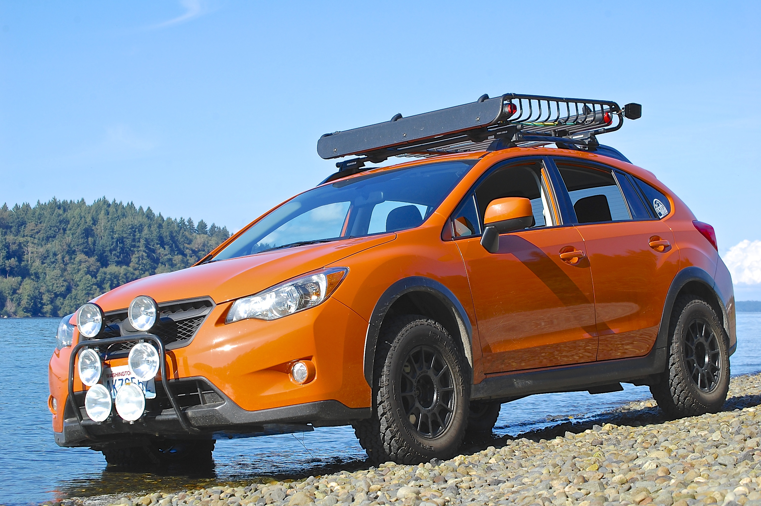 Tangerine Orange Pearl Subaru XV Picture Thread Page 8