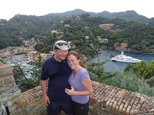 Matt and me in Portofino