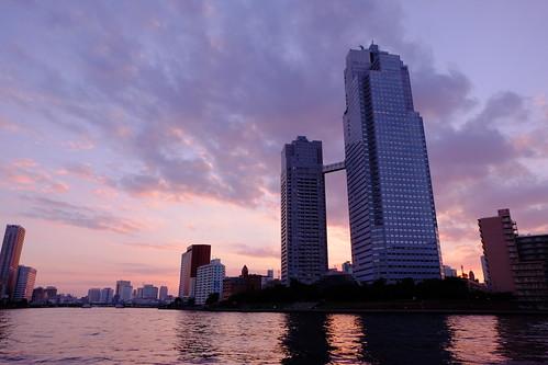 Tokyo sky at magic hour