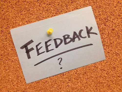 Feedback (Credits: gforsythe / FlickR)