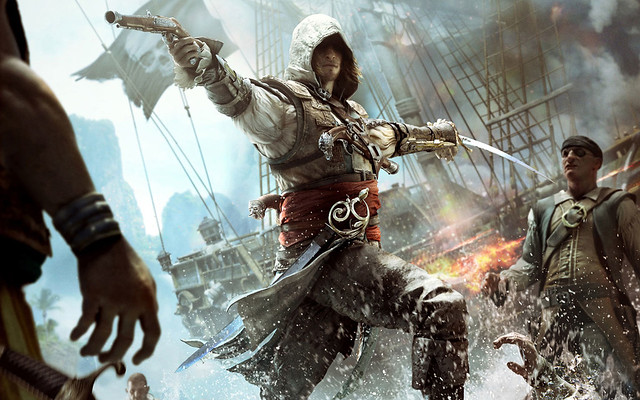Assassin's Creed 4 Black Flag Wide Wallpaper