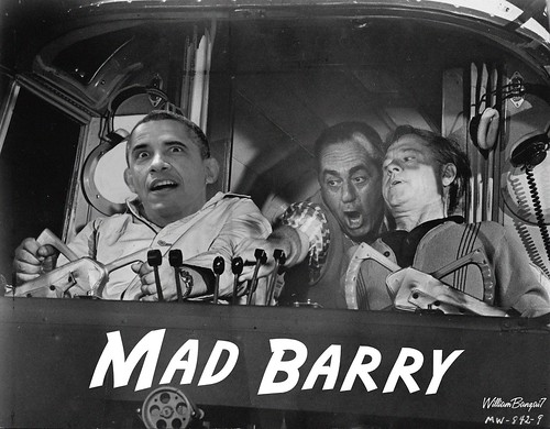 MAD BARRY by WilliamBanzai7/Colonel Flick