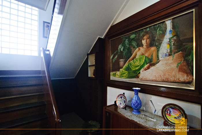 The Infamous Gloria Arroyo Painting at the Macapagal-Macaraeg Ancestral House in Iligan City