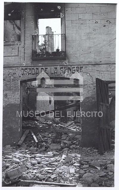 Posada de la Sangre en 1936 © Museo del Ejército, Ministerio de Defensa