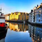 Boat in Alesund