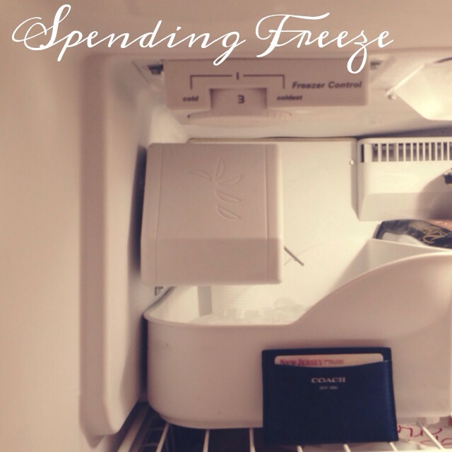 Spending Freeze.