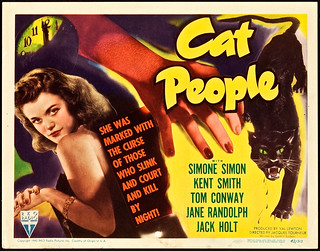 "Cat People (RKO, 1942). Title Lobby Card (11"" X 14""). 