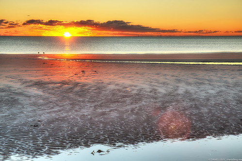 Revere Beach, 6:26am. #sunrise #hdr #photography
