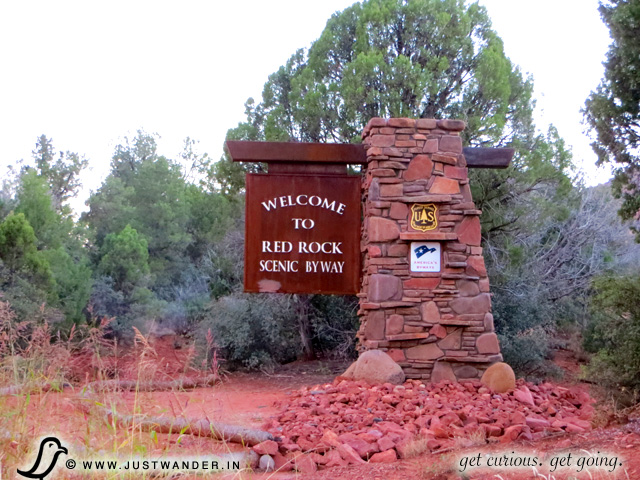 PIC: Welcome Sign - Red Rock Scenic Byway