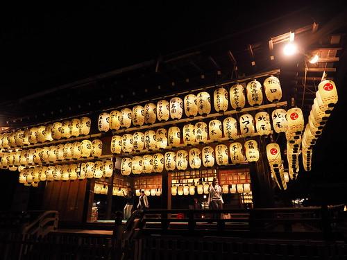 八坂神社 舞殿