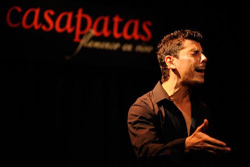 Roberto Lorente, cantaor. Foto: Martín Guerrero