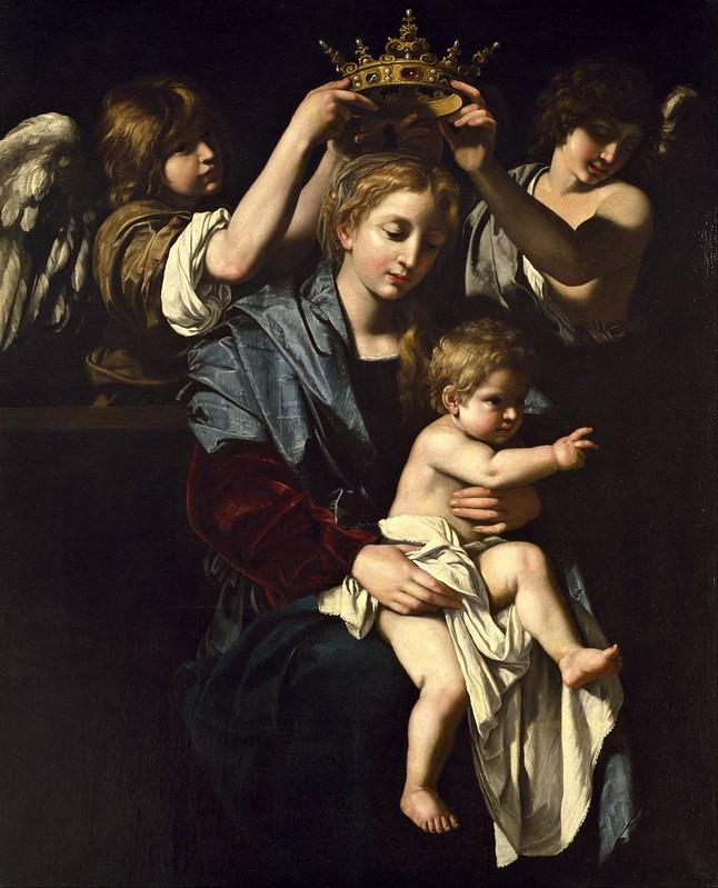 Bartolomeo Cavarozzi - Virgin and Child with Angels