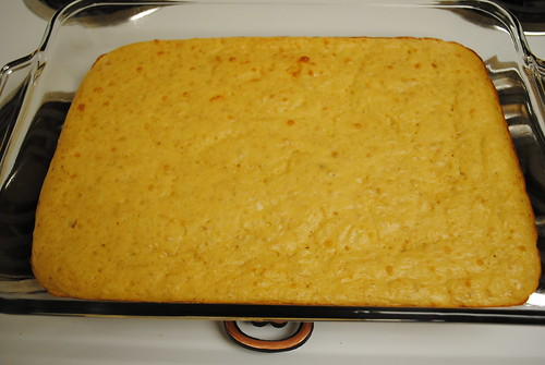 greek yogurt yellow cake (1)
