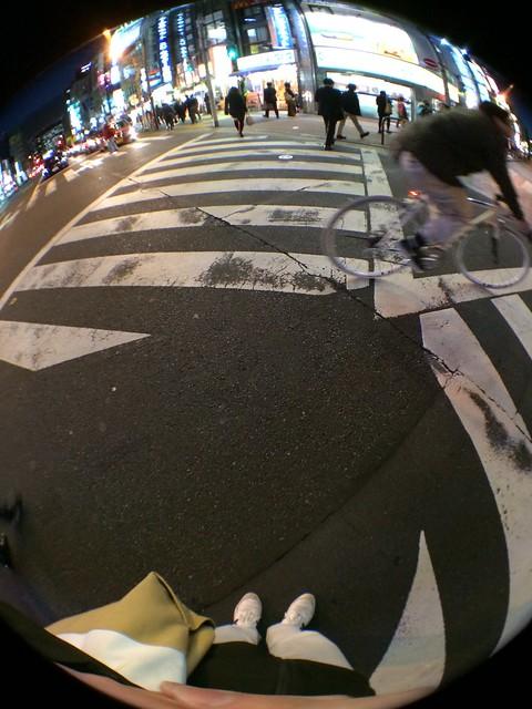 iPhone5sで撮影 olloclip 魚眼レンズ 2013年12月12日