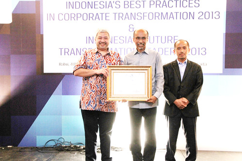 Indonesia Best Corporate Transformation Award 2013