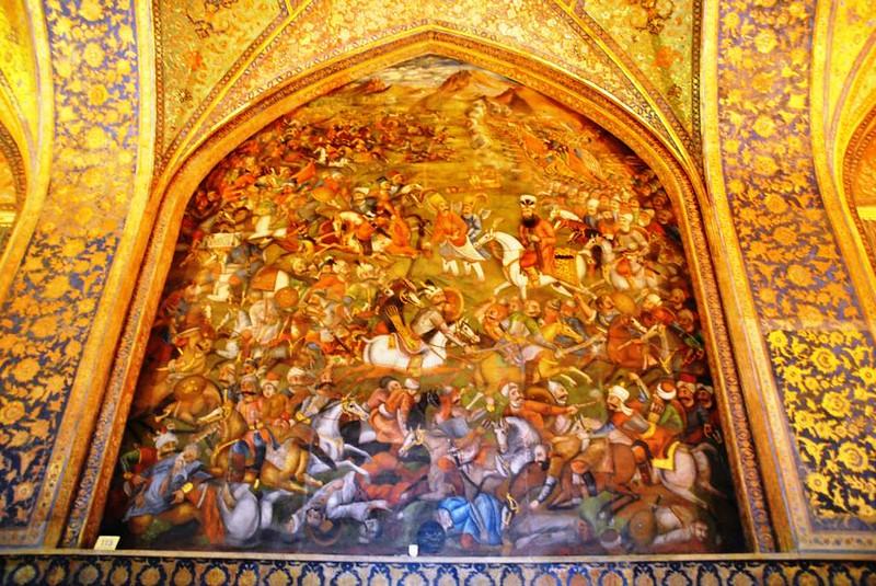 60 Palacio de Chehel Sotun o de las 40 columnas en Isfahan (16)