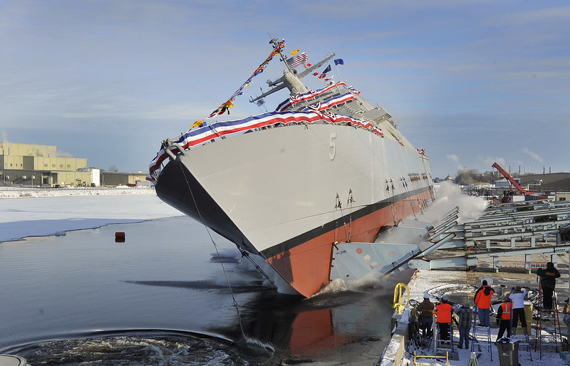 Christening of the LCS Milwaukee