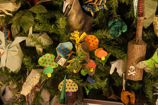 Origami Tree, American Museum of Natural History