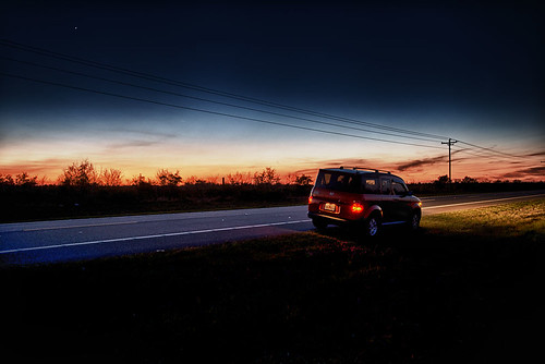 sunset headlights hondaelement manateecountyflorida ericseibert