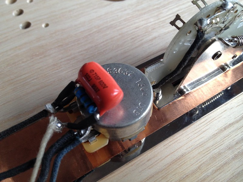 telecaster wiring kit tele pre wired with treble bleed. Black Bedroom Furniture Sets. Home Design Ideas
