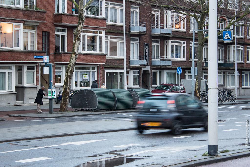 Парковка для велосипедов в Роттердаме
