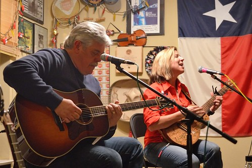 Lloyd Maines and Terri Hendrix by dave_hensley
