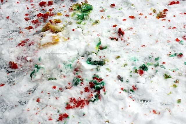 Tie Dyed Snow