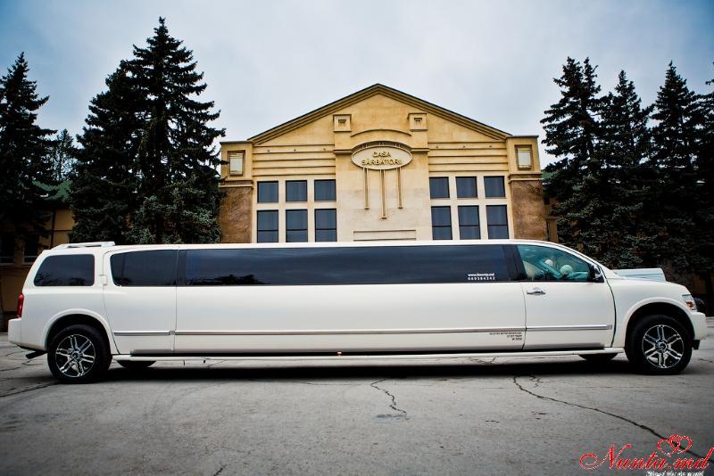 Limuzine în Moldova Chişinău «Prestige Limo» de la 50 euro > Foto din galeria `Infinity QX56 Anul fabricarii 2009,Lungimea 12m,pasageri 20`