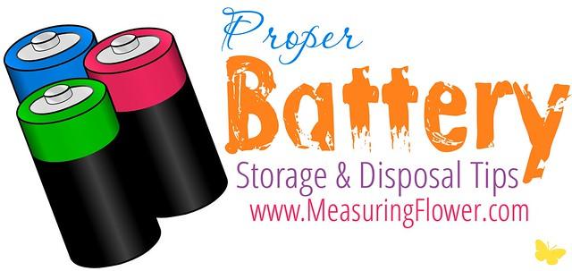 Proper Batter Storage and Disposal Tips