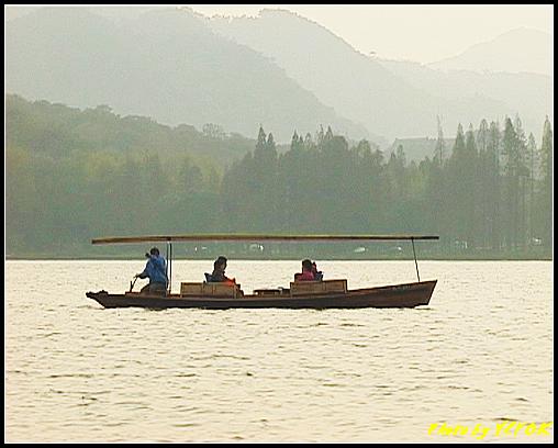 杭州 西湖 (其他景點) - 264 (在西湖十景之 蘇堤 上看西裡湖的黃昏)