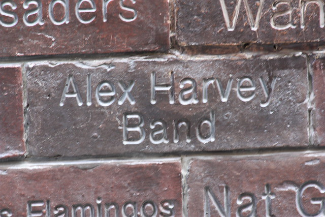 Header of Alex Harvey