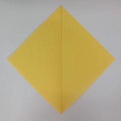 สอนวิธีพับกระดาษเป็นรูปลูกสุนัขยืนสองขา แบบของพอล ฟราสโก้ (Down Boy Dog Origami) 003