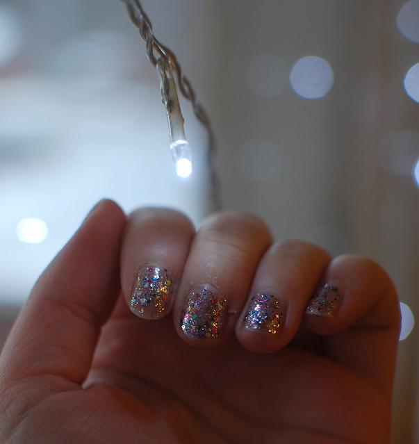 glitterlakka