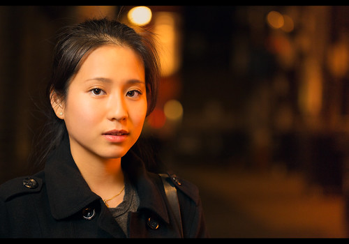 Carrie (Stranger #31/100), London Chinatown by flatworldsedge