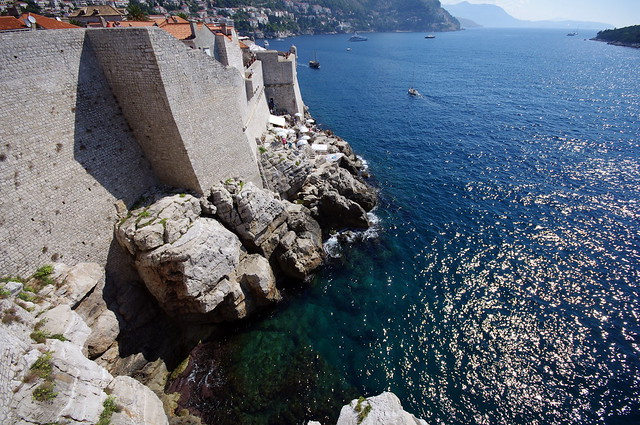 Murallas de la antigua República de Ragusa. Dubrovnik. Croacia.