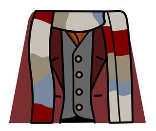 Fourth Doctor Tom Baker