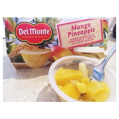 Snack time. #spon #delmonte