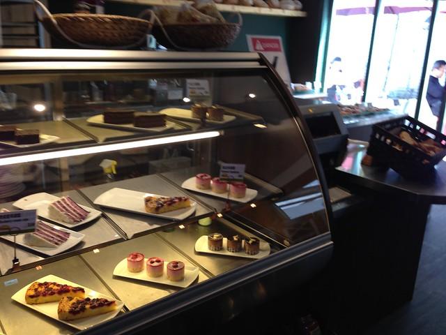 Panos 比利時歐式咖啡連鎖店,甜點櫃