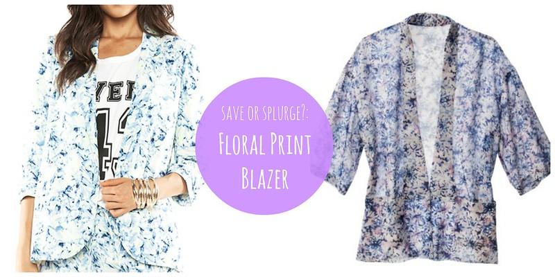 floral print blazer jacket Target