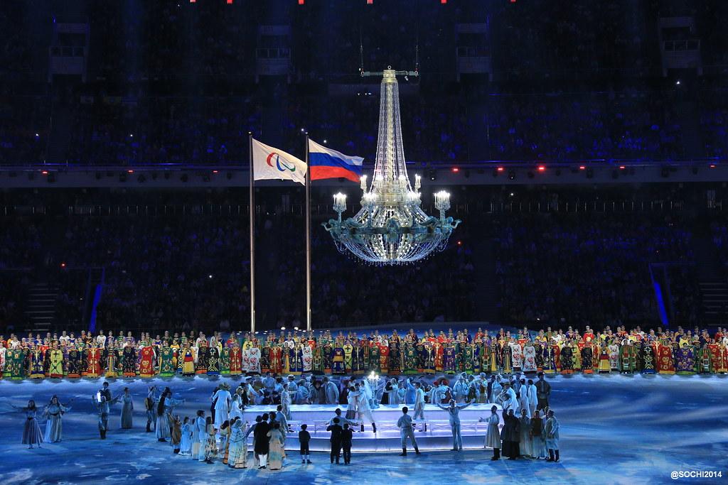 Церемония открытия Паралимпийских игр
