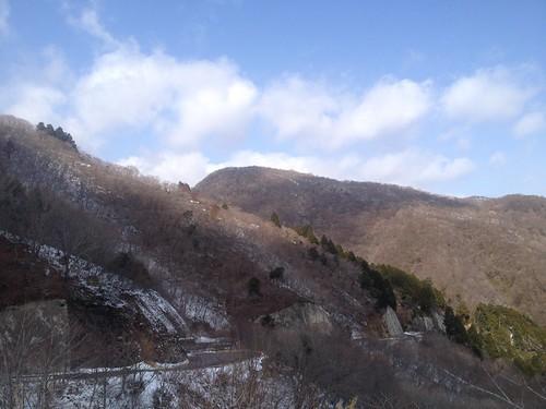 のりこし峠から西台山