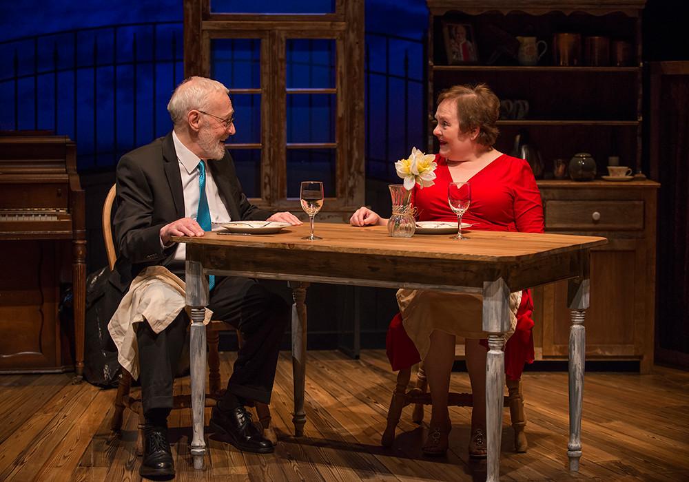 John Mahoney and Penny Slusher