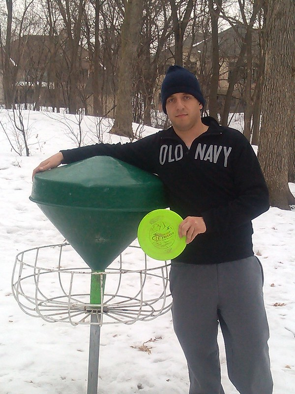 Last Chain On The Edge To Get A Lucky Drop I Am Sure Most Of You Do Not Even Know What These Are They Sadly Were Never Approved As Pdga Target