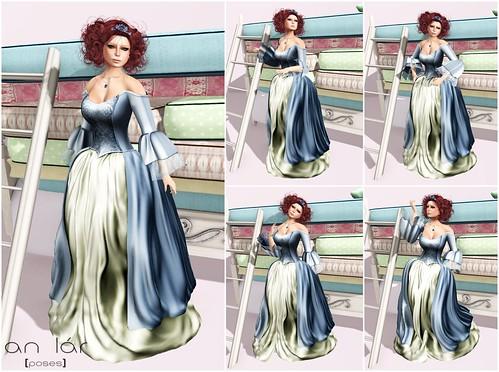 an lár [poses] The Spoiled Princess Series