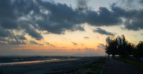 sunrise landscape nikon sigma malaysia 1750 пейзаж seacost рассвет mesing малайзия мерсинг