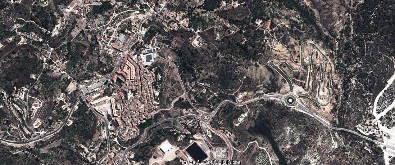 después, urbanismo, foto aérea,desastre, urbanístico, planeamiento, urbano, construcción,Finestrat, Alicante