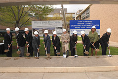 Marvin I. Danto Engineering Development Center Groundbreaking, 2007