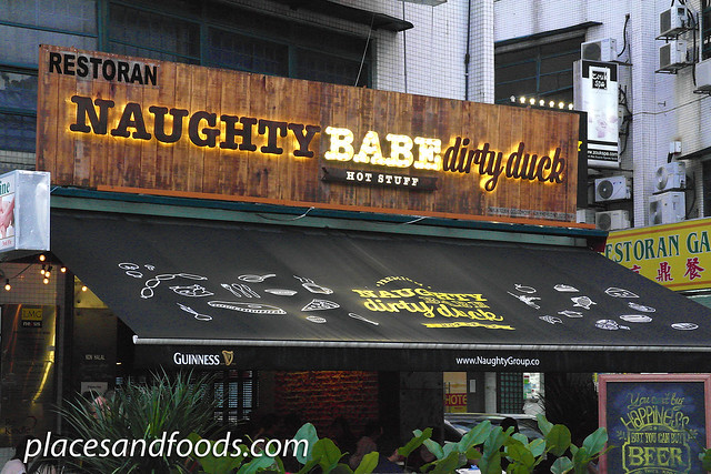 naughty babe dirty duck desa hartamas