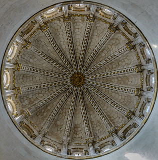 Catedral de Zamora. Vista interior del cimborrio